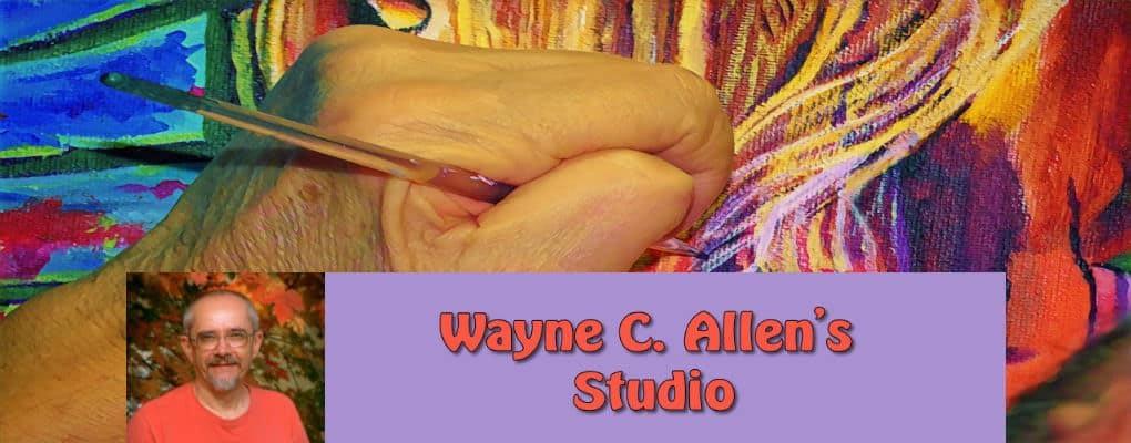 Wayne C. Allen, figurative artist